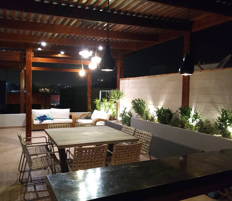 La importancia de la iluminacion en una terraza dise o Iluminacion decorativa para exteriores