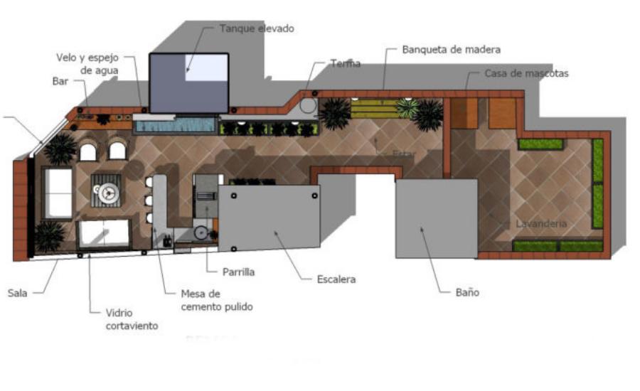 Diseño De Terraza En Azotea Quieres Un Bonito Proyecto